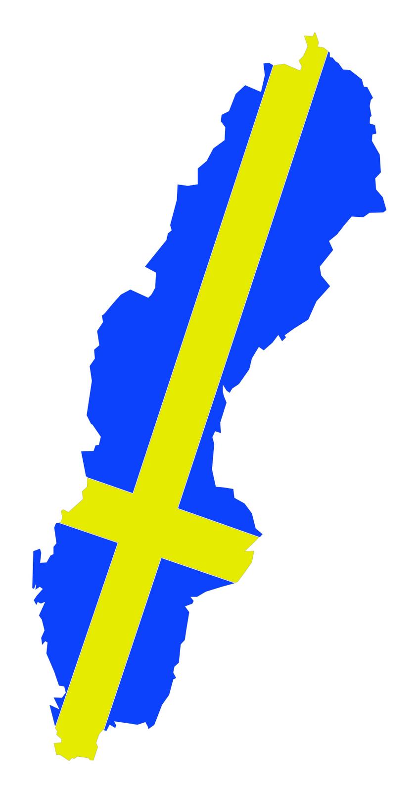 Sweden Flag Pict...M Alphabet Wallpaper