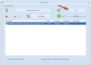 Cara Mengubah/konversi file menggunakan Format Factory
