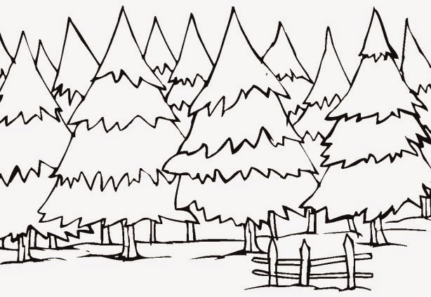winter coloring pages and clip art coloring.filminspector.com