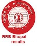 RRB Bhopal result 2013