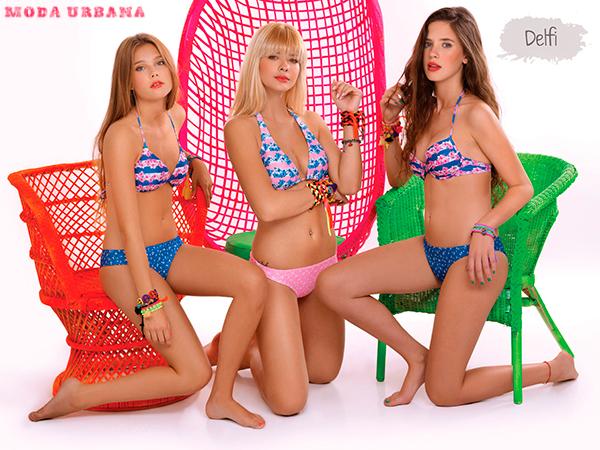 Sweet Victorian 2013 bikinis estampadas