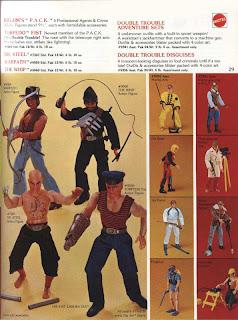 Mattel's Big Jim PACK from Mattel Catalogue