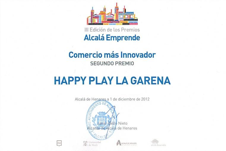 Parque infantil alcal de henares happy play la garena diciembre 2012 - Pisos en la garena alcala de henares ...