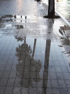 Rain in Mallorca