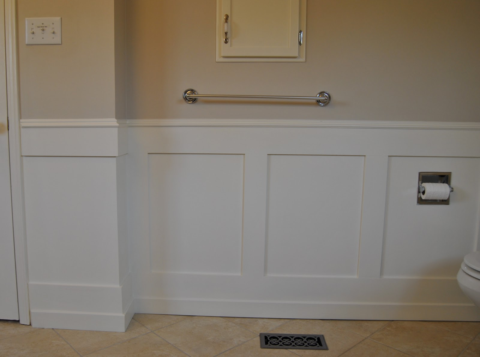 Bathroom sink vanity dimensions - Molding Dimensions My Husband Used To Create The Shaker Style Effect