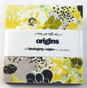 Basic Grey Origins fabric swatch book by Moda
