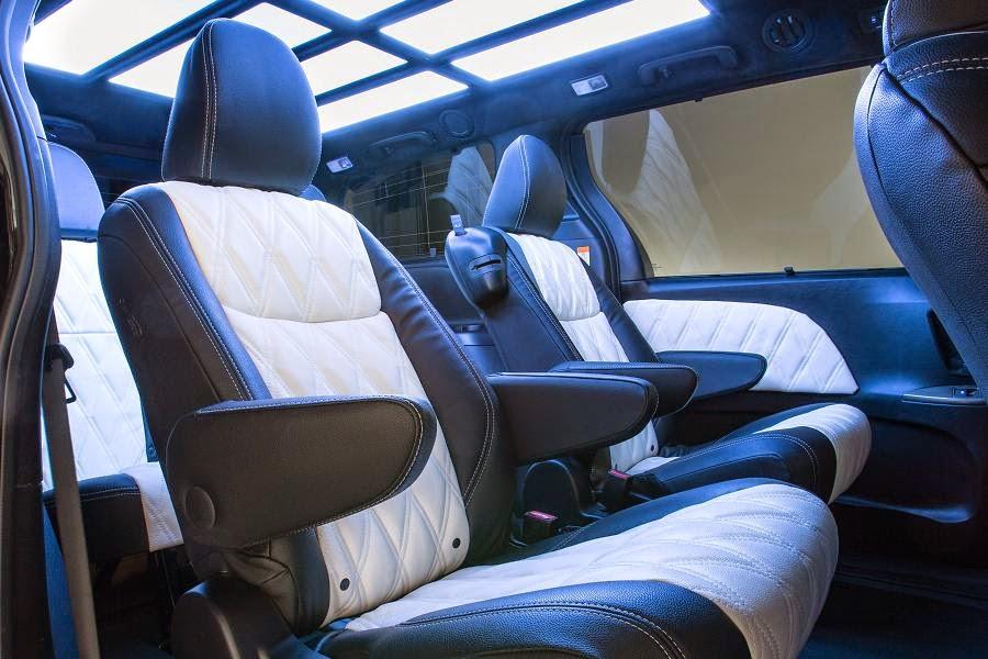 Toyota Sienna DUB Edition (2015) Interior