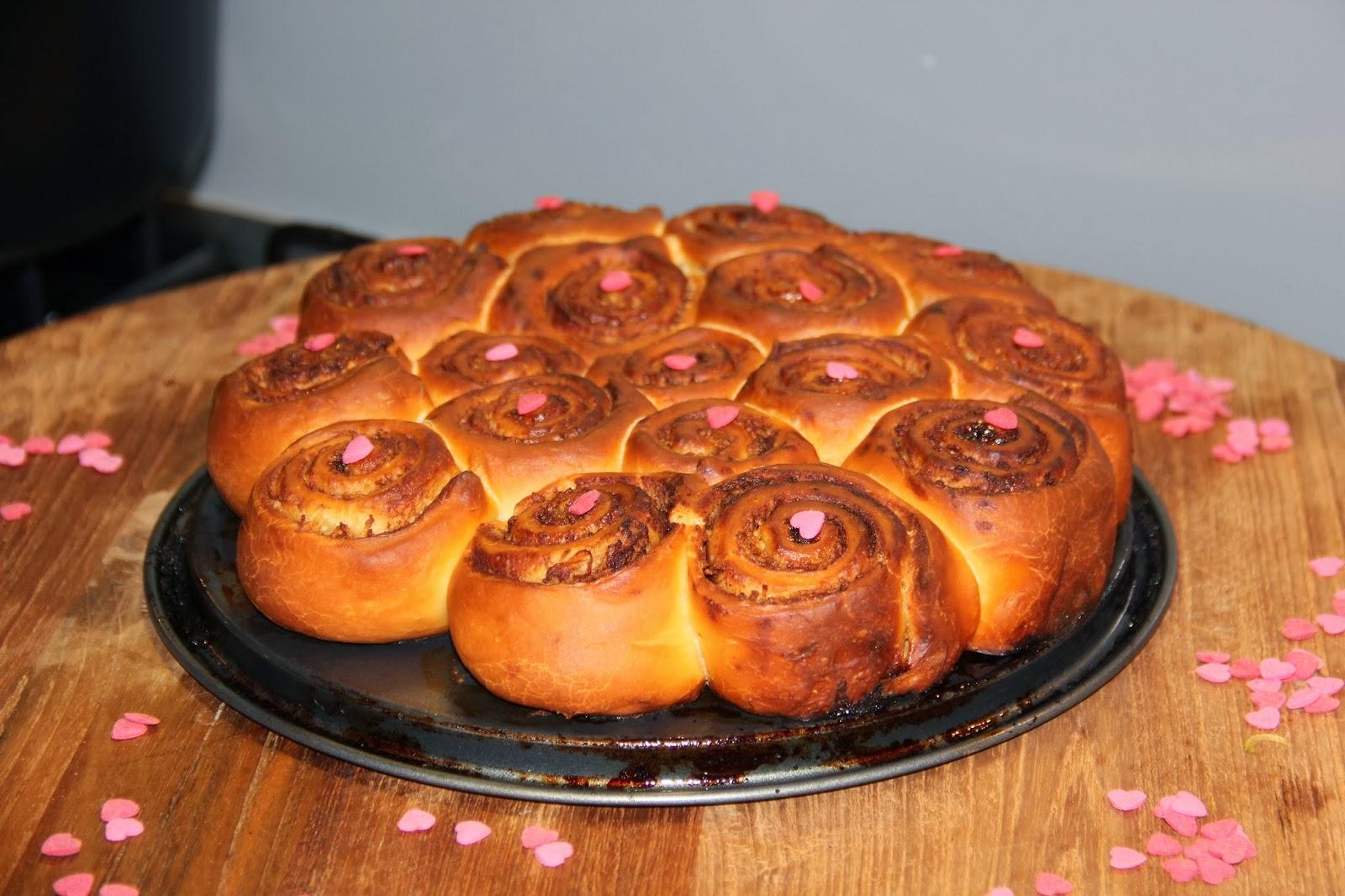 Kaneelbroodjes met appel - www.desmaakvancecile.com