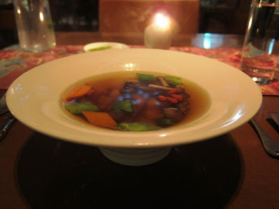 Seafood broth at My Humble House