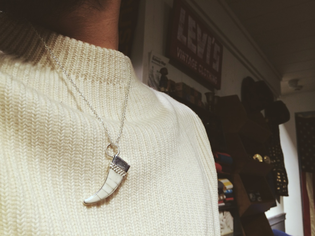 mohawk モーホーク ズニ族 zuni indianjewelry madeinjapan pierce deerhornbangle  2014