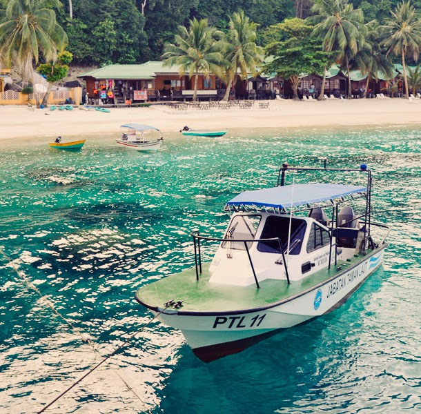 Pulau Perhentain, Besar, Malaysia