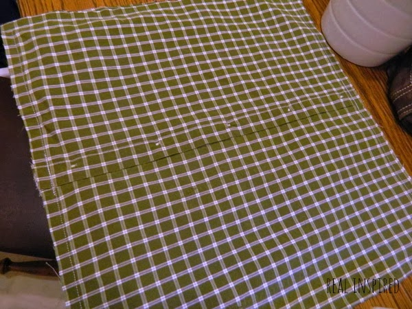 how to turn a shirt into a pillow