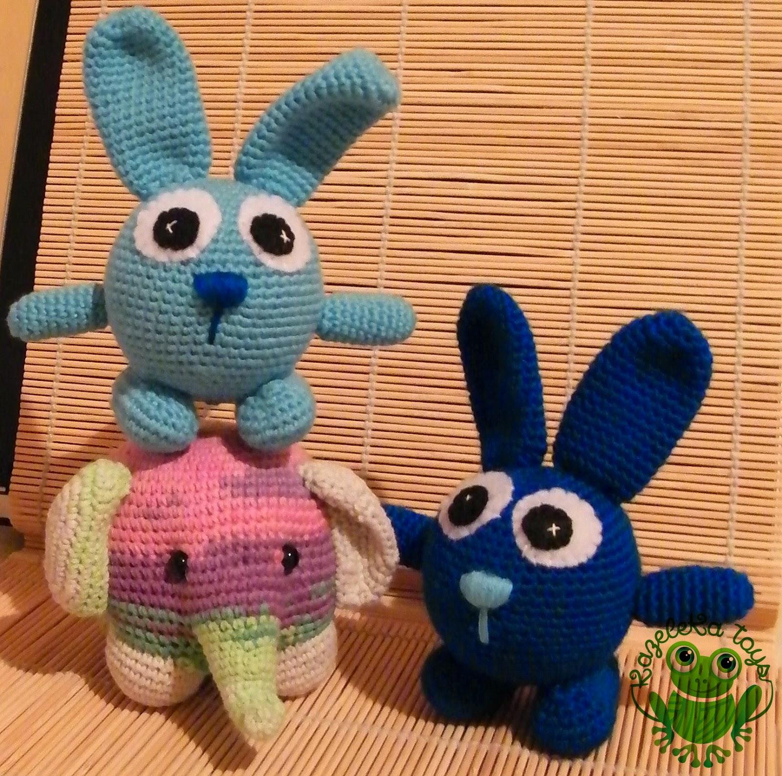 игрушки для детей заяц и слон