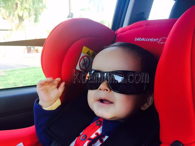 bebé gafas de sol