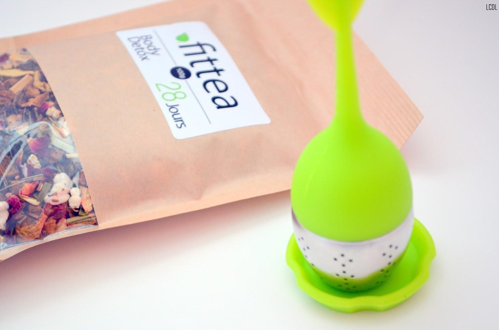Très J'ai testé le Body Detox Tea 28 jours de Fitvia - Les confidences  EL73