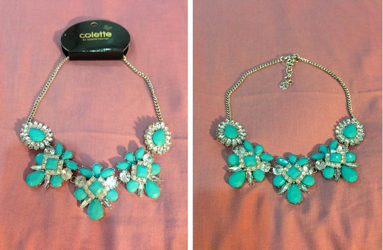 Stone and Crystal Statement Necklace