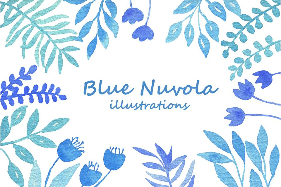 Blue Nuvola Illustrations
