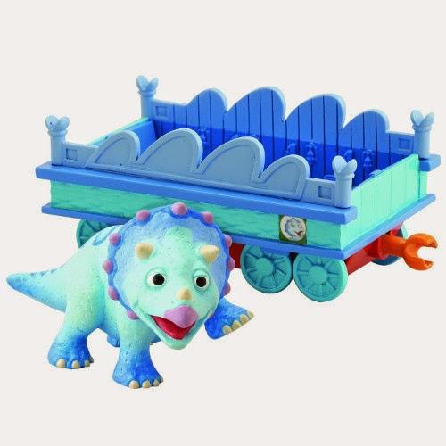 JUGUETES - DINOTREN  Tank con vagón | Figura - Muñeco  Producto Oficial | TOMY LC53004MP | A partir de 3 años