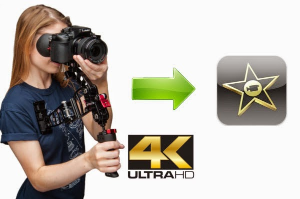 Import Panasonic GH4 UHD 4K to iMovie