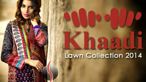 Khaadi Spring Summer Collection 2014 Khaadi Lawn Spring/summer
