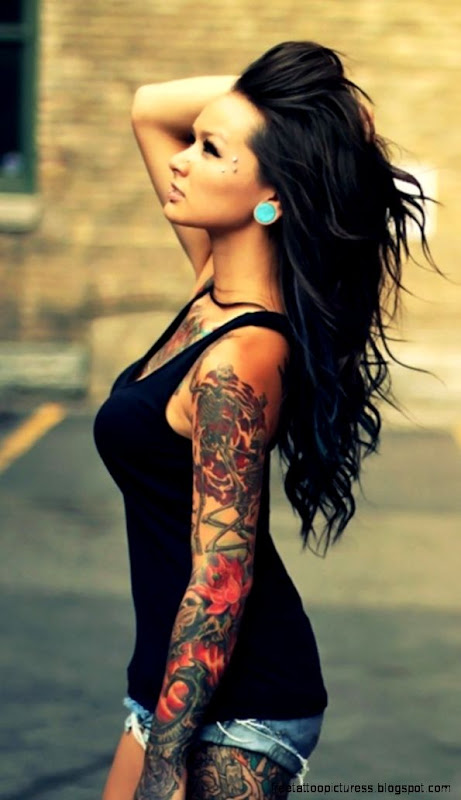 Tattoo Girl iPhone 6  6 Plus and iPhone 54 Wallpapers