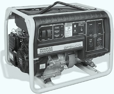 WACKER NEUSON Generator TROUBLESHOOTING Wiring And Schematic