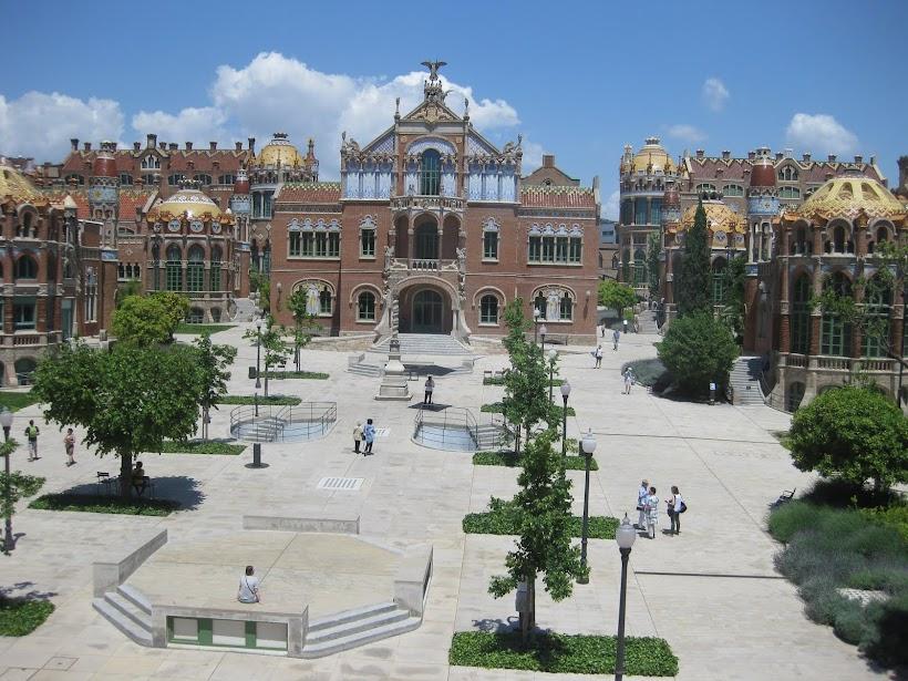 Un rincón de Barcelona