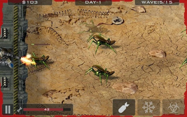 Alien Bugs Defender 1.2 screenshot