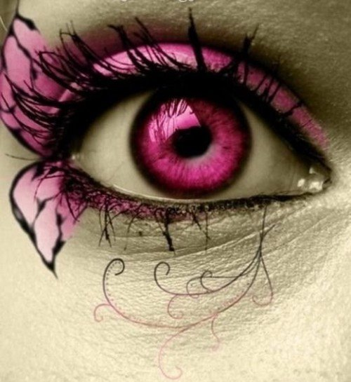 pictures eye makeup. pretty eye makeup ideas. crazy