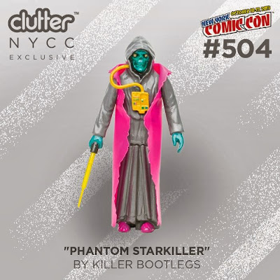 New York Comic Con 2013 Exclusive Clutter Edition Phantom Starkiller: The Cosmic Ghoul Warrior by Killer Bootlegs