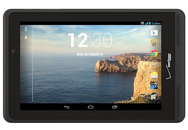 Full specifications details Verizon Ellipsis tablet