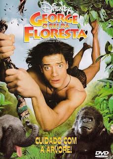 Filme Poster George - O Rei da Floresta 1 e 2 DVDRip XviD & RMVB Dublado