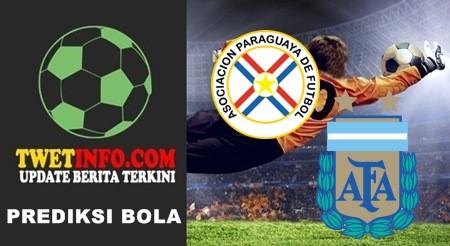 Prediksi Paraguay vs Argentina