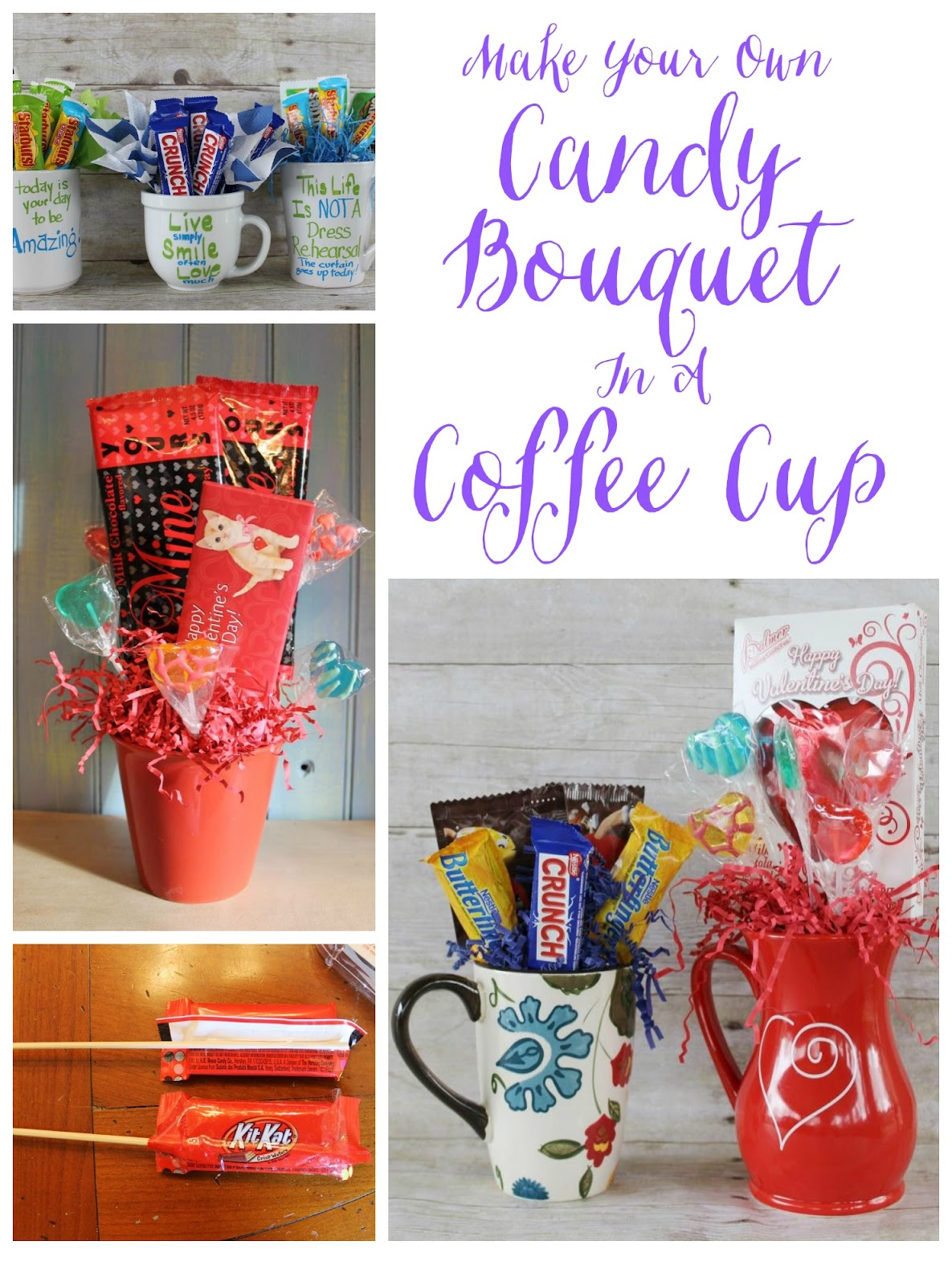 Make A Candy Bouquet In A Coffee Cup Miss Kopy Kat