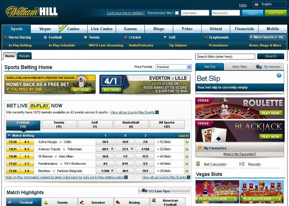 William hill netbuster best european roulette