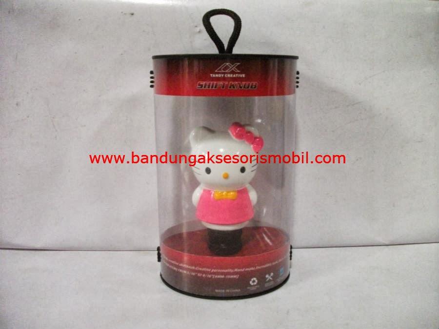 Gear Knob Hello Kitty Pink