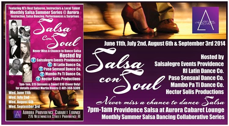 Summer 2014 Salsa in Providence