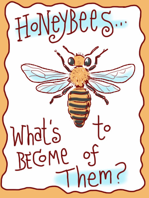 honeybees, colony collapse disorder, fate of honeybees, pollination
