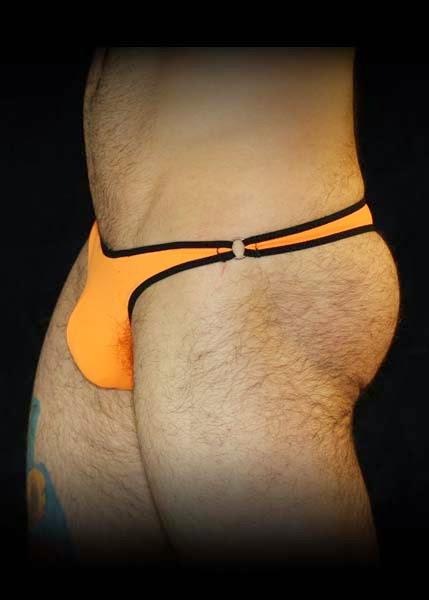 GBGB Wear Jim Bikini Orange Detail Mens Underwear