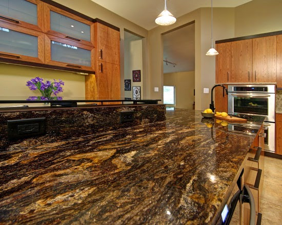 Different Color Granite Countertops