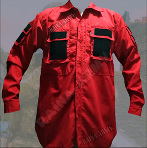 BAJU TACTICAL MERAH