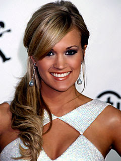 Straight Talk: Wedding Hairstyles - The Side Swept Ponytail - Updated