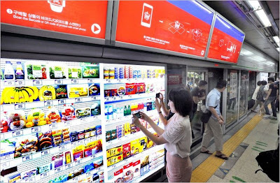virtual store 12%5B5%5D أول متجر أفتراضي في العالم في كوريا