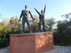 "Soviet era statues of Hungary in ""Memento Park"""