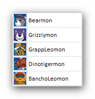 Bearmon Evolution Line :