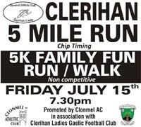 5 mile race in S.Tipperary...Fri 15th July