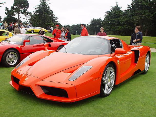 Gambar Mobil Sport Ferrari Enzo 05