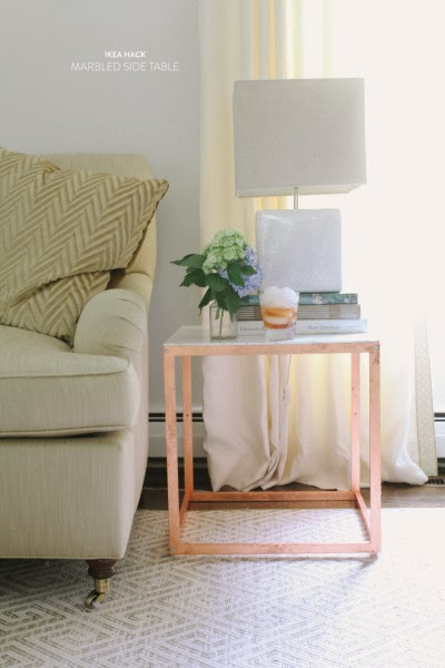 http://www.stylemepretty.com/living/2013/07/22/diy-ikea-side-table-hack/