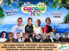 CARNAVAL 2016 EM CERRO CORÁ/RN
