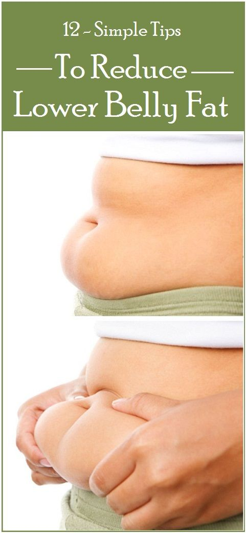 12 Simple Tips To Reduce Lower Belly Fat
